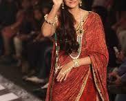 Sarees in Bollywood / Bollywood heroines in sarees