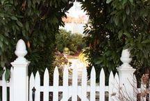 Gates, fences and trellises