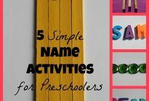 Activities for nursery