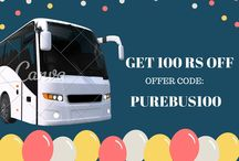 Bus ticket booking on online with offers / Online bus ticket booking