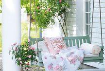 fehér kerítés, terasz...