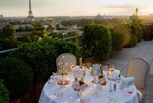Hotel terraces / by Hildegarde ~