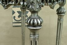 Silver furniture, ezüst bútor / Ezüstözött bútorok készítése, restaurálása. www.richterantik.hu