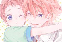 Free! Kisumi and Hayato