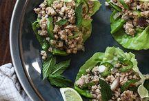 Thai Lettluce Wraps / Thai