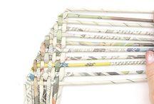 Newspaper/Paper Weaving
