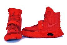 Crochet Nike Air Yeezy 2 Red October