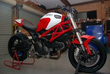 Ducati Monster 796 / Ideas for customizing a Ducati Monster 796