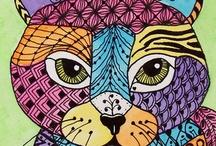 Cats / Art children cats