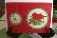 My cards  / Made by  Jeanette Smith