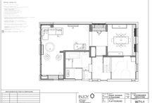 technische tekening van een huis /