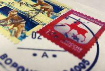 Марки Poststamps