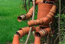Clay Pots / by Just Me