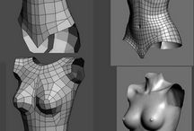 TUTO / 3D CHARACTERS