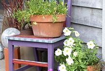 CHAIR PLANTERS / CHAIR PLANTERS