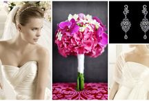 bridal look inspiration/stylizacje ślubne / Bridal looks based on wedding color themes  Stylizacje ślubne w oparciu o kolory i motywy przewodnie
