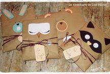 Упаковка подарков и бирки