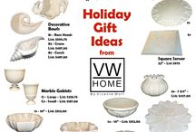 HOLIDAY GIFT IDEAS FROM VW HOME BY VICENTE WOLF / HOLIDAY GIFTS IN STOCK!