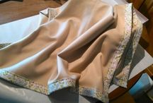 Cashmere - blankets by PWV / woven cashmere framed with cotton fabric -> thus you have a lovely longlasting cuddle blanket
