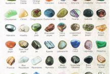 Pierres minérales