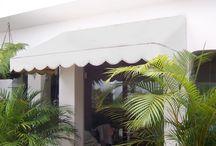 Toldos / Lona Fixo / Inspirado no elegante design italiano, a linha Zetalon® de toldos fixos é composta por diversos modelos e diversas combinações de cores, além de oferecer praticidade e o melhor aproveitamento da iluminação natural do ambiente.