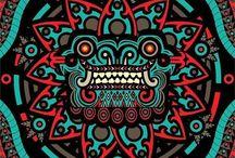 MAYAN/AZTEC/INCA/ZAPOTEC URBAN ART