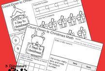 Advent Calendars / Fun DIY advent calendar ideas. So many fun ways to count down to Christmas!