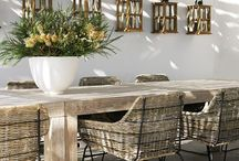 Dining out areas