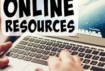 Homeschool: ONLINE / Homeschool online (online homeschooling or cyberschool) ideas and resources.