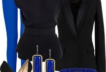 oblečko - modrá inspirace