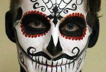 Maquillage De Tête De Mort