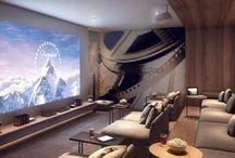 Chris theater room
