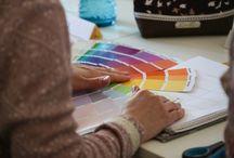 Einrichten & Wohnen: Farbkonzepte entwickeln / In jedem Raum lässt sich mit den entsprechenden Farben die gewünschte Atmosphäre erzeugen. Am Beispiel meiner Workshops in Hamburg zeige ich, wie stimmige Farbkonzepte entstehen.