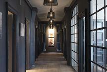 Dark walls & rooms