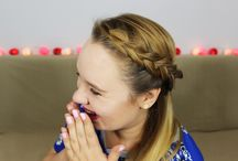YouTube Tutorials / Hairstyle Tutorials from BeMyHairLover channel. Braids, updo & girly style for everyone! :)