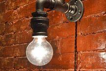 Rétro Loft Industrie Lampe