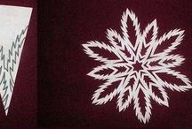 Paper Snowflakes 2013