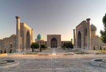 Samarqand | Uzbekistan / Özbekistan'ın güney kesiminde kent. Zeravşan ırmağının vadisinde, Taşkent'in 275 km güneybatısındadır.  In the southern part of Uzbekistan Zeravşan river valley, Stone city is 275 km southwest.