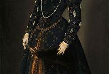 Платья эпохи Ренессанса