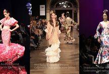 Guía definitiva del traje de flamenca / Guía que propone estudiar el traje de flamenca según cada una de sus características y componentes en función de todos los factores posibles, ya sean, tipo de traje, tipo de corte, de volantes, de mangas, etc