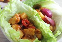 Lettuce wraps!  / by Chrissy Dugent