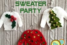 Party Ideas - Ugly Christmas Sweater / Party Ideas - Ugly Christmas Sweater party decorations and party ideas