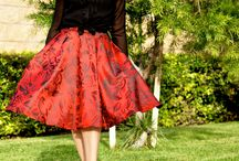"""Holiday Skirt """"NewLook 6056"""" is FABULOUS!!!! / Mixing the old with the new and coming up with something great!"""