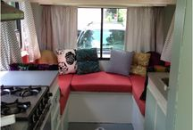 We Must Be Crazy / Ideas for remodeling a travel trailer for our family to live.