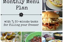 Meal planning / How to meal plan.  What resources to use and how you do it.  Also the best tips to get it done and stay on schedule.