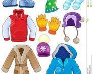 Oktatás Téli öltözködés