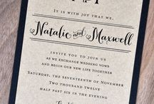 Invitations / Check out some of our favorite invitations!