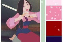 Mulan Decor / Mulan exemplifies the Chinese style – bold yet subtle. She is both elegant geisha and fierce warrior all wrapped into one.