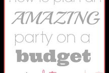 Party Planning on a Budget / On a budget? Use these tips and tricks to throw a party which your guests will love as well as your bank account.