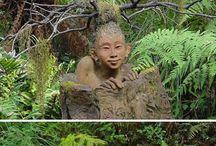 древесный арт